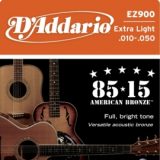 D'Addario EZ900 Great American Bronze Wound Extra Light