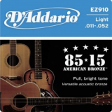 D'Addario EZ-910 Great American Bronze Wound Light