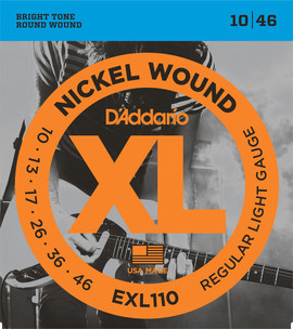 D´Addario EXL 110 Nickel Wound Regular Light - Bulk balenie