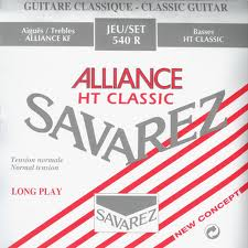 SAVAREZ 540 R ALLIANCE ROUGE  Struny nylon git.