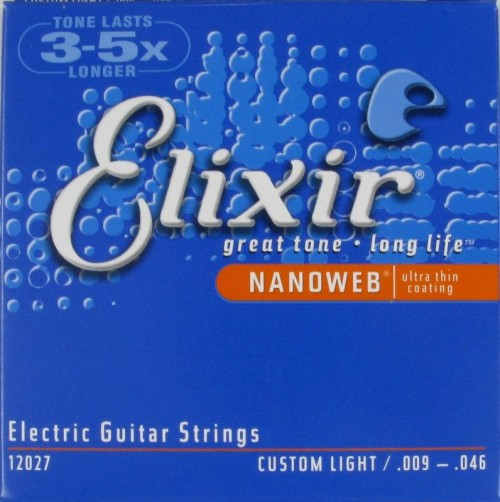 Elixir Electric NANOWEB 09/46 Custom Light