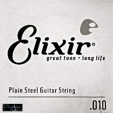 Elixir 010 Single String Plain Steel