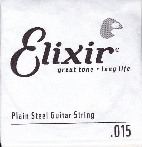 Elixir 015 Single String Plain Steel