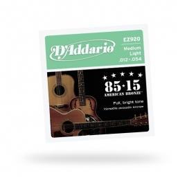 D'Addario EZ-920 Great American Bronze Wound Medium Light