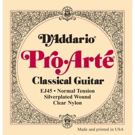 D'Addario EJ45 ProArte Laser Selected Nylon Trebles Normal