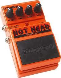 Digitech gitarový pedál HOT HEAT Distortion